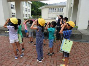 2018年6月28日 日野町立桜谷小学校「愛鳥講演会」